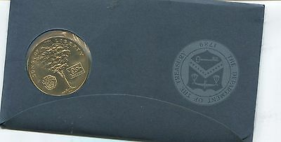 "1973 Bicentennial Medal ""Geo. Washington"" With FDC (CLbx)"
