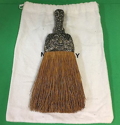 Merrick, Walsh & Phelps Sterling Silver Whisk Broom Repousse Design