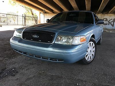 2008 Ford Crown Victoria  2008 Ford Crown Victoria P71 Police Interceptor!  Former Administrator Unit!