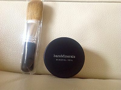 Bareminerals mineral veil and brush