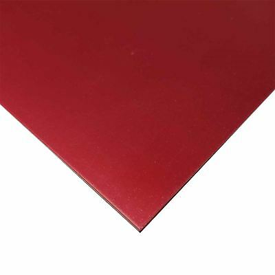 "Red Anodized Aluminum Sheet .032"" x 14"" x 24"""