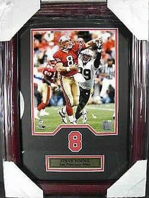 Steve Young San Francisco 49 ers NFL Football,48 cm Wall picture real Wood Frame