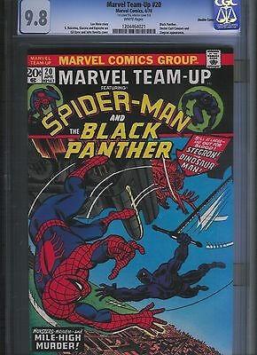 Marvel Team-up # 20 CGC 9.8 Double cover!!  White Pages. UnRestored.