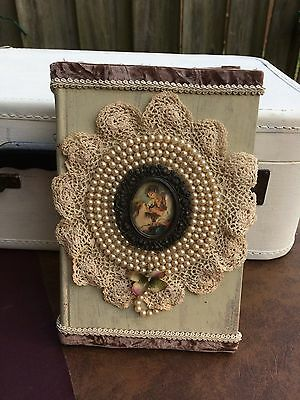 Decorative Victorian Vintage Book Shabby Chic Cottage Book
