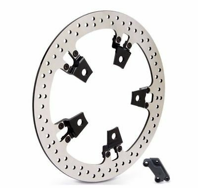 "Arlen Ness Right Side 14"" Big Brake Floating Rotor Kit 14-17 Harley FLT Touring"