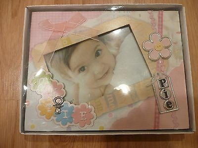 "Picture Frame Baby 9""x7"" for 4x6 picture Cutie Pie"