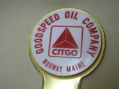 Vintage Letter Opener Advertising Goodspeed Oil Company Norway Maine Citgo 7""