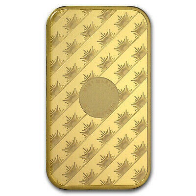 SPECIAL PRICE! 1 oz Gold Bar - Sunshine New Design Minting (In Assay with TEP)
