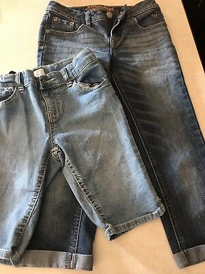 Girls Justice Jeans And Shorts Size 10