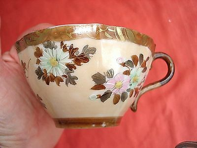 Beautiful Antique Chinese Butterfly & Flower Tea cup