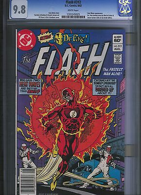 Flash # 312 CGC 9.8  White Pages. UnRestored.