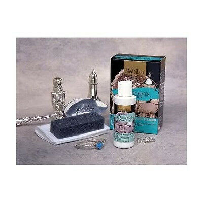 Medallion Brand Liquid Silver Plating System, Silverware Kit
