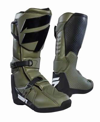 2018 Shift MX Mens Whit3 Label Boot Fat Green