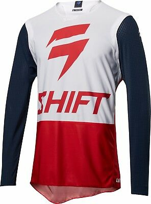 2018 Shift MX Mens 3lue Label 4th Kind Jersey Nvy/Red