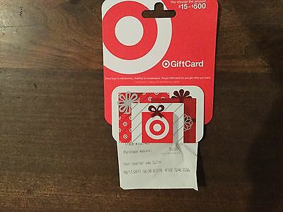 Target Gift Card $50 Worth No Expiration Date