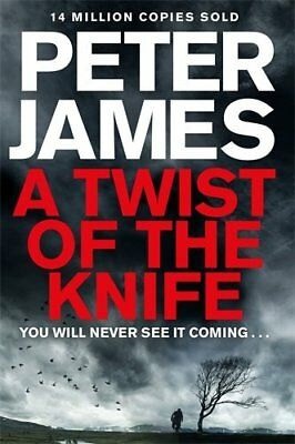 A Twist of the Knife by Peter James New Paperback Book