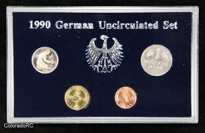 1990 Germany Uncirculated 4-Coin Set