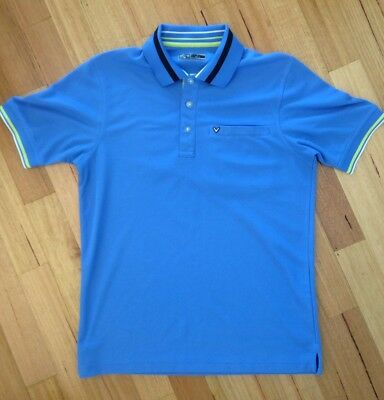 Callaway Golf Polo Shirt Mens Excellent Cond