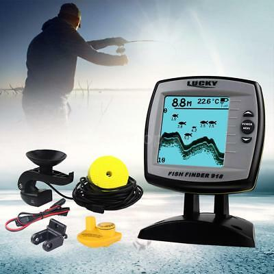 LUCKY FF918-100W 2-in-1 Fish Finder Sounder Sensor Transducer Fishing Indicator