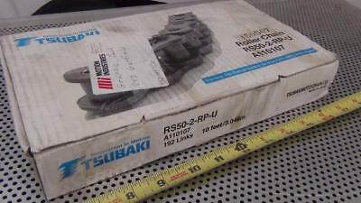 Tsubaki RS50-2-RP-U 10 Foot Roller Chain - New in Box - Never Installed