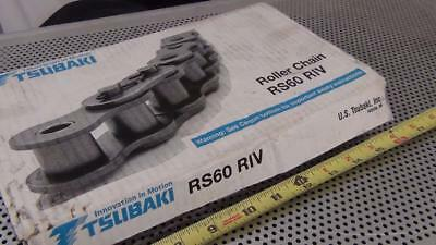 Tsubaki RS60 RIV 10 Foot Roller Chain - New in Box - Never Installed