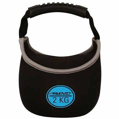 Avento Kettlebell 41KH-ZWB-Uni 2 kg Néoprène Musculation gym exercices