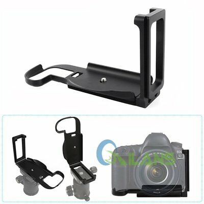 QR Vertical L Plate Bracket Quick Release Hand Grip Holder For Canon 5D4 Camera