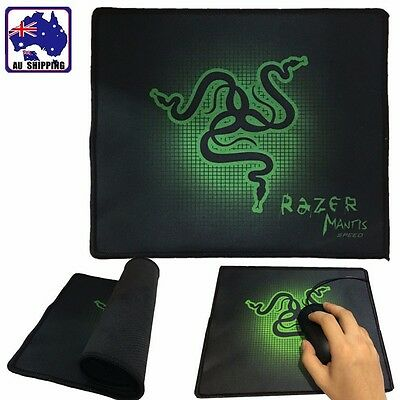 2pcs Mousepad Mat Pad Game PC Laptop for Optical Laser Mouse 25x21cm SMPA70325x2