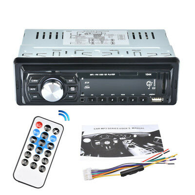 Auto Car Audio Stereo In-Dash DVD CD MP3 Radio Player SD Input AUX FM Receiver