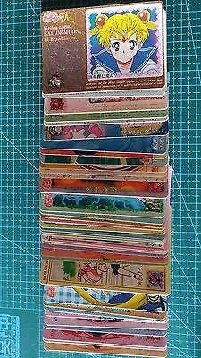 Sailor Moon Carddass Part 4 Regular 36 Cards Full Set