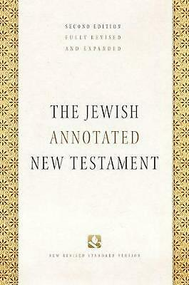 Jewish Annotated New Testament by Amy-jill Levine Hardcover Book Free Shipping!