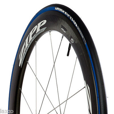 MICHELIN PRO 4 Course Pneu Pneu 700c X 23mm Bleu Vélo Course Route Bicyclette
