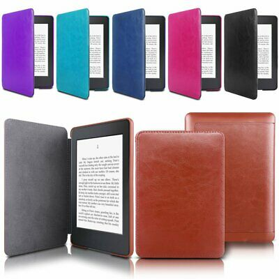 For Amazon 2018 All-New Kindle Paperwhite Magnetic Flip Leather Smart Case Cover