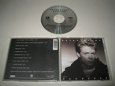 Bryan Adams / Reckless (A&M / 395 013-2) CD Album