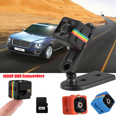Quelima SQ11 Mini Camera 1080P HD Camcorder with Night Vision 140 Degree FOV DVR