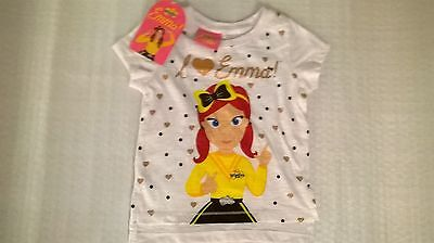Emma / Wiggles / T- Shirt / Girls / Sizes 1, 2, 3, 4 and 5