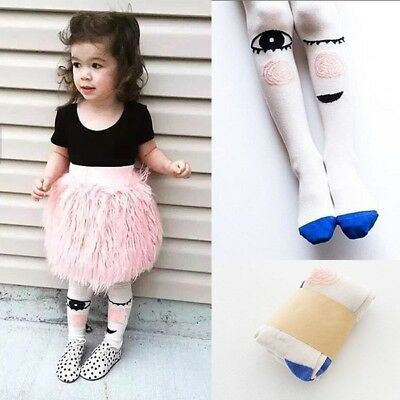 Children Kids Girls Cute Cartoon Cotton Pantyhose Tights Socks Stockings Hosiery