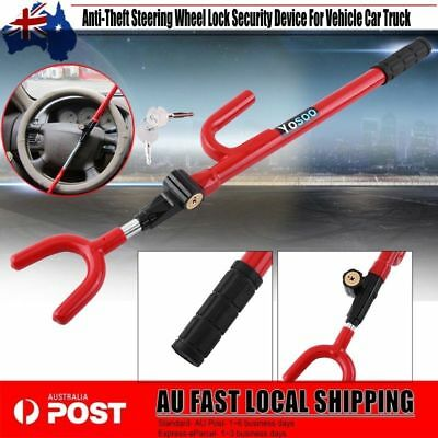 NEW Anti-Theft Steering Wheel Lock Security Device For Vehicle Car Truck BBY