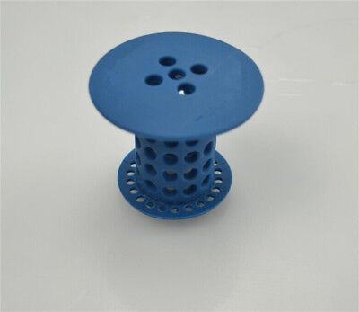 Drain Protector Sink Hair Catcher Strainer Blue-NEW