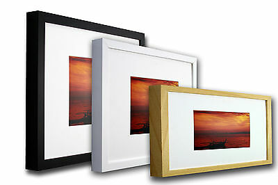 Stylish Frame A4 (21x29.7cm). Available in Black, White, Mahogany or Natural.