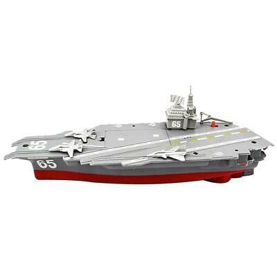 Electric Mini Aircraft Carrier Children Educational Toy Ship Model