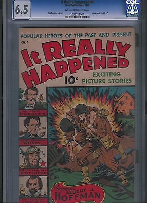 It Really Happened # 4 CGC 6.5  Off White to White Pages. UnRestored.