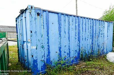 Steel Store, 20ft Shipping Container