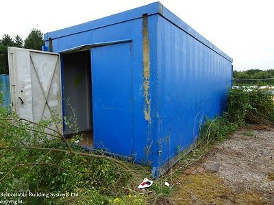 Large Steel Store, Shipping Container
