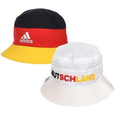 Adidas Official Football Gift Germany Spain France Reversible Bucket Hat