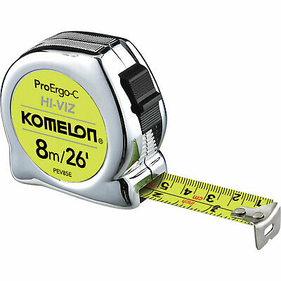 Komelon The Professional Tape Imperial & Metric 26ft / 8m 25mm