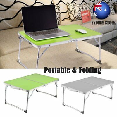 Portable Folding Picnic Camping Desk Laptop Table Stand Computer Notebook Tray
