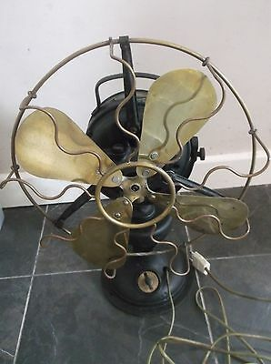 Old Electric Fan Marelli Mod Bisa art deco 20s Ventilator Ventilatore Industrial