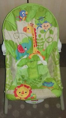 Fisher-Price Rainforest Infant to Toddler Rocker - Used