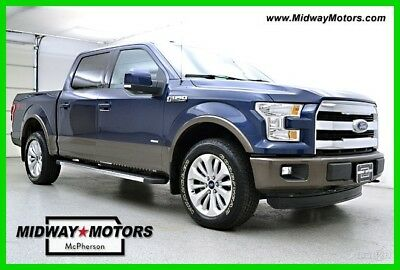 2015 Ford F-150 Lariat 2015 Lariat Used Turbo 3.5L V6 24V Automatic 4WD Pickup Truck